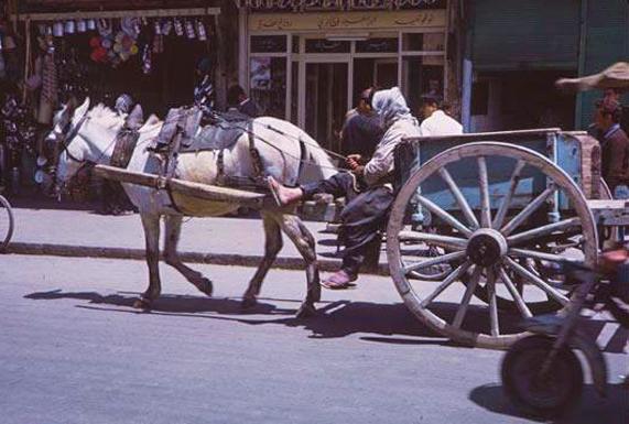 صور لدمشق التقطت بتاريخ 1965